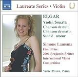 桂冠ヴァイオリニスト:シモーネ・ラムスマ(エルガー作品集)を試聴する