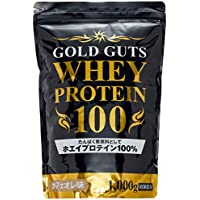 【Amazon.co.jp限定】GOLD GUTS ゴールドガッツホエイプロテイン100 カフェオレ味 1000g