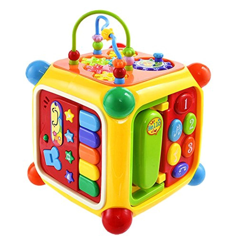 赤ちゃんスマート家学習教育キューブペアリング認識おもちゃTreasure Chest 0 – 2 Age