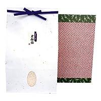 【米寿祝のお返しに】新潟岩船産コシヒカリ 2kg 贈答箱入り[包装紙:鹿の子]