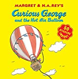 Curious George and the Hot Air Balloon (8x8 with stickers)