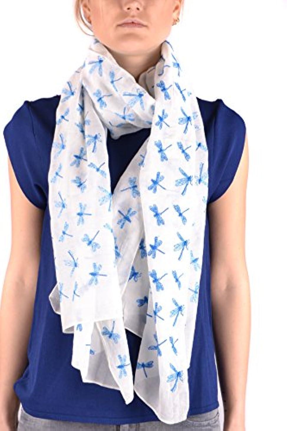 やけど立方体セクタAltea レディース MCBI016120O ライトブルー コットン スカーフ