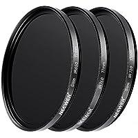 Neewer 77mm光学ガラス赤外線IRフィルターキットIR720 IR760 IR850フィルター レンズキャップ クリーニングクロスなど付属 Sony Canon Nikon Olympus Pentax Panasonicデジ一眼レフに対応