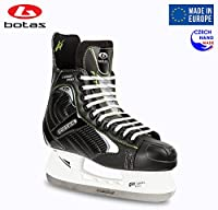 Botas – Largo 571 Pro – Men 's Ice Hockey Skates | Made inヨーロッパ(チェコ) |色:ブラック Adult 10.5 ブラック