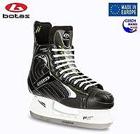 Botas–Largo 571Pro–Men 's Ice Hockey Skates | Made inヨーロッパ(チェコ) |色:ブラック Adult 10.5 ブラック
