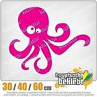 KIWISTAR - Octopus comic 15色 - ネオン+クロム! ステッカービニールオートバイ