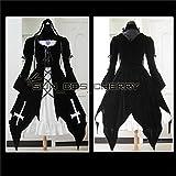 【サイズ選択可】コスプレ衣装 T-022 ローゼンメイデン 水銀燈 女性Mサイズ