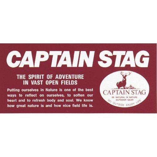 キャプテンスタッグ(CAPTAIN STAG) ロゴステッカ...