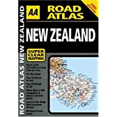 AA Road Atlas New Zealand