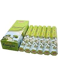 Govinda ® Incense – エネルギー( Energia ) – 120 Incense Sticks、プレミアムIncense、Masalaコーティング