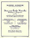 アルフォンス : 旋律的・斬進的な新しい200のホルン練習曲 第一巻 (ホルン教則本) ルデュック出版