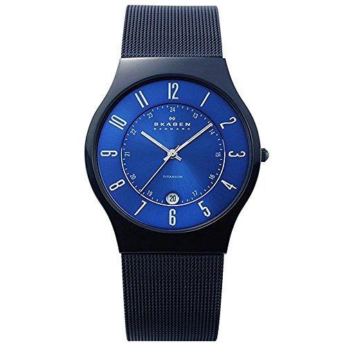 スカーゲン SKAGEN ウルトラスリム チタン 腕時計 T233XLTMN