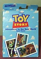 Toy Story Adventures in the Real World Card Game