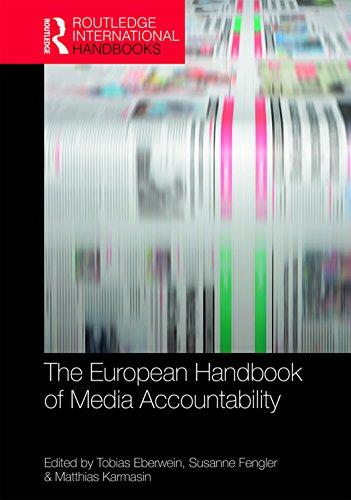 The European Handbook of Media Accountability (Routledge International Handbooks) (English Edition)