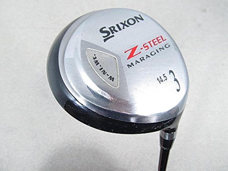 【中古品】ダンロップ フェアウェイウッド スリクソン(SRIXON) Zスチール フェアウェイ SRIXON SV-3005J 3W
