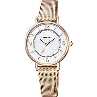 [シチズン]腕時計 wicca ウィッカ ソーラーテック メッシュバンドモデル KP3-465-13 レディース