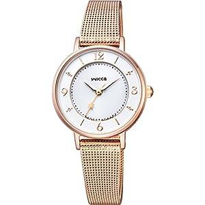 [シチズン]CITIZEN 腕時計 wicca ウィッカ ソーラーテック メッシュバンドモデル KP3-465-13 レディース