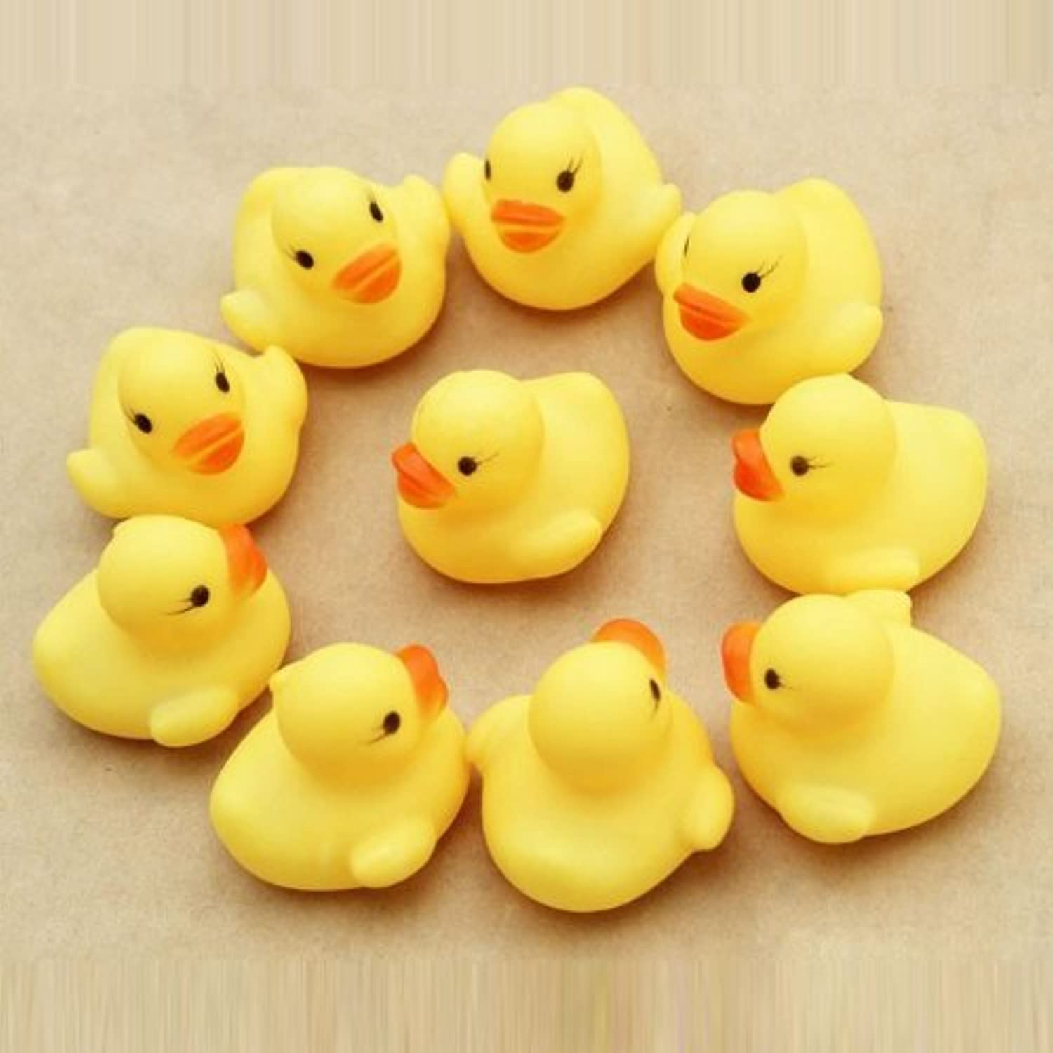 Lowpricenice(TM) Lovely One dozen 12 PC Rubber Duck Ducky Duckie Baby Shower Birthday Party Favors by Lowpricenice [並行輸入品]