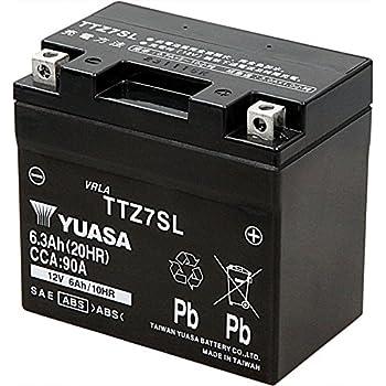 TAIWAN YUASA [ 台湾ユアサ ] シールド型 バイク用バッテリー [液入充電済] TTZ7SL