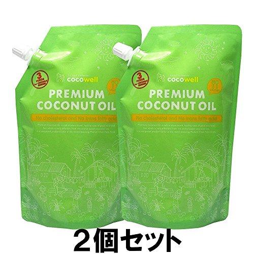ココウェル ココウェル プレミアムココナッツオイル2個セット(460gX2個)