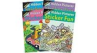Highlights Sticker Fun Book - 4 book set