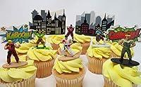 Street Fighter Cupcake Topper Featuring 6 RANDOM Street Fighter Figures [並行輸入品]