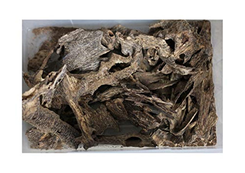 形式絞る微視的Agarwood Chips Oud Chips お香 アロマ | 天然の野生と希少な沈香チップ、Oudwood Vietnam製 | 純素材グレードA++ 50g ブラック