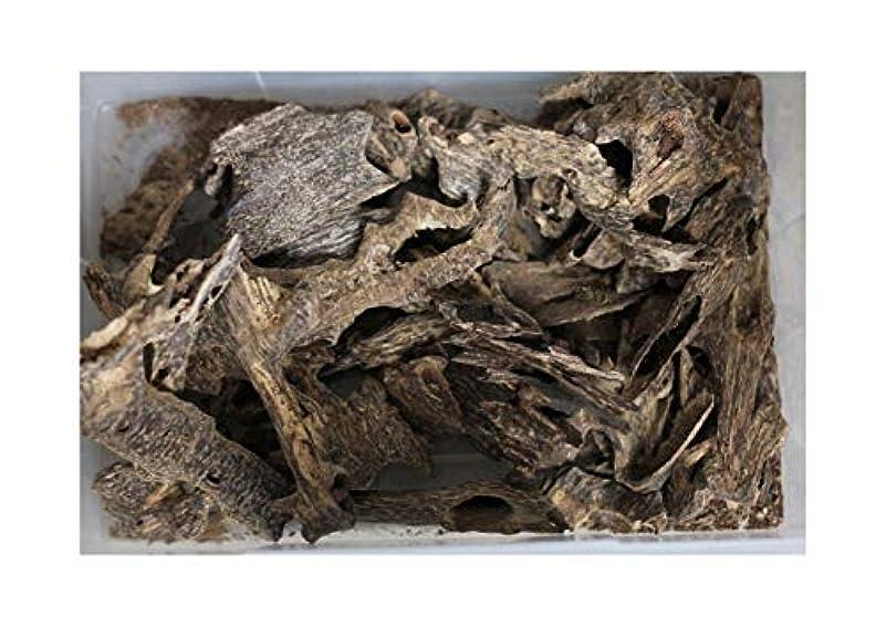 サークル王族すべきAgarwood Chips Oud Chips お香 アロマ | 天然の野生と希少な沈香チップ、Oudwood Vietnam製 | 純素材グレードA++ 100g ブラック