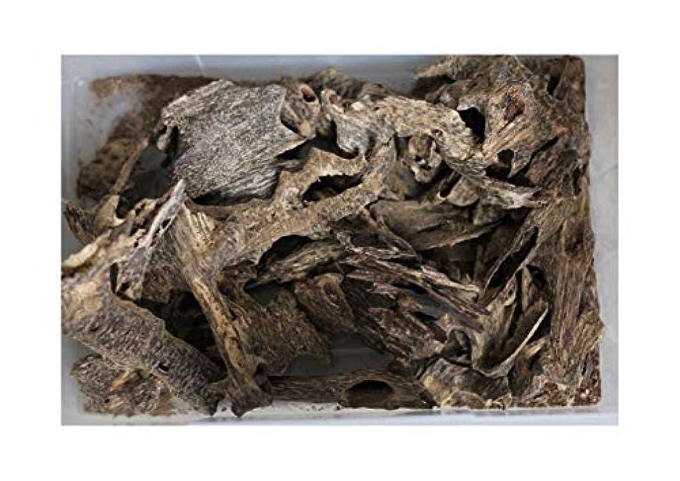 ストレス治療シャッターAgarwood Chips Oud Chips お香 アロマ | 天然の野生と希少な沈香チップ、Oudwood Vietnam製 | 純素材グレードA++ 50g ブラック