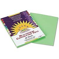 SunWorks Groundwood Construction Paper - 30cm x 23cm - Light Green