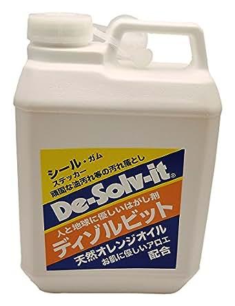ドーイチ はがし剤 De-Solv-it ディゾルビット 2L