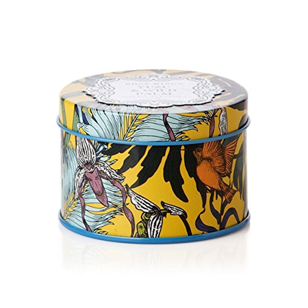 男ラショナル捕虜ロージーリングス プティティンキャンドル ユズ&ワイルドパーム ROSY RINGS Petite Tin Yuzu & Wild Palm