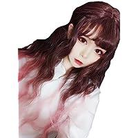 (インマン) INMAN フルウィッグ ウィッグ ロング ゆるふわ カール 巻き髪 自然 原宿 ロリータ 高品質 耐熱 グラデーション (カール)
