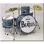 RINGO STARR Beatles Yリンゴ·スター、ビートルズミニチュアドラムセットドラムセット