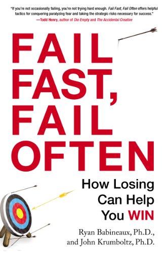 amazon fail fast fail often how losing can help you win english
