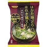 宝幸 はかた地どりの水炊き風スープ 7.0g×10個