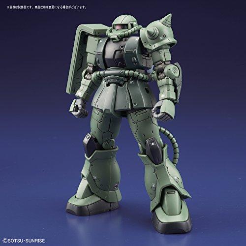 HG機動戦士ガンダム THE ORIGIN ザクII C型/C-5型 1/144スケール 色分け済みプラモデル