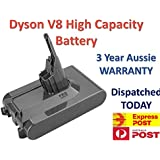 4800mAh Replacement Battery for Dyson V8 Series Lithium Battery 2020 Accessories