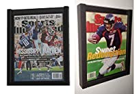 PACK of 2 Magazine Display Cases Frames for 1990-CURRENT issues of Sports Illustrated or Comic Book [並行輸入品]
