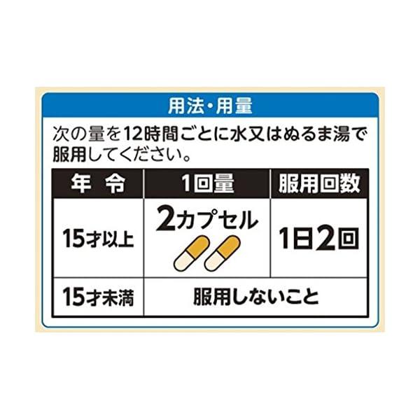【指定第2類医薬品】パブロン鼻炎カプセルSα ...の紹介画像3