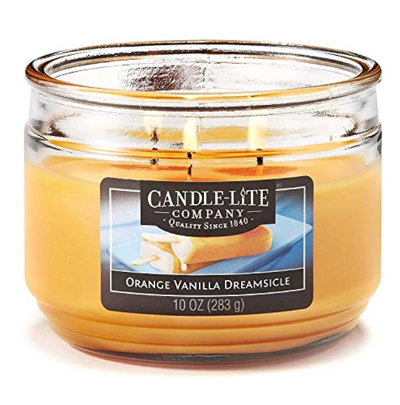 海洋の印象連結するZtian ライトオレンジバニラ香りのキャンドルデイリーグリーンキャンドル