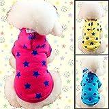 【Petz @Stylez Sapporo】 ペット 犬 服 トレーナー パーカー コスチューム 首輪用 チャーム セット ( 赤 ・ M サイズ )