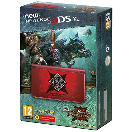 New Nintendo 3DS XL LL 欧州版 本体 モンハンX 限定版 Monster Hunter Generations Edition (輸入版)