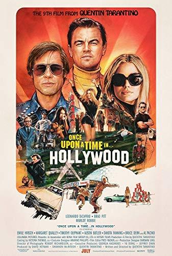 映画ポスター ワンスアポンアタイムインハリウッド Once Upon a Time in Hollywood US版 hi1 [並行輸入品]
