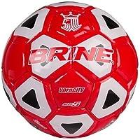 Brine Voracity Soccer Ball Size 5レッド/ブラック/ホワイト