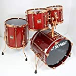 SONOR/HILITE EXCLUSIVE Red Maple 4点セット ソナー ハイライト エクスクルーシヴ ドラムキット
