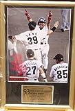 BBM 阪神タイガース 赤星憲広 額入り 写真 2003 ベースボールマガジン社