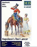 NAPOLEON'S RED LANCER, NAPOLEONIC WARS SERIES 1/32 MASTER BOX 3209.