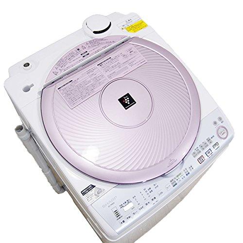 シャープ 8.0kg 洗濯乾燥機 ピンク系SHARP 穴なし槽カビぎらい プラズマクラスター洗濯機 ES-TX820-P