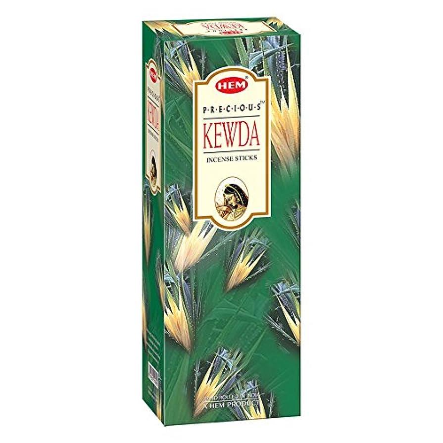 欠如バナナ無数のHEM(ヘム)社 プレシャス ケウダ香 スティック KEWDA 6箱セット